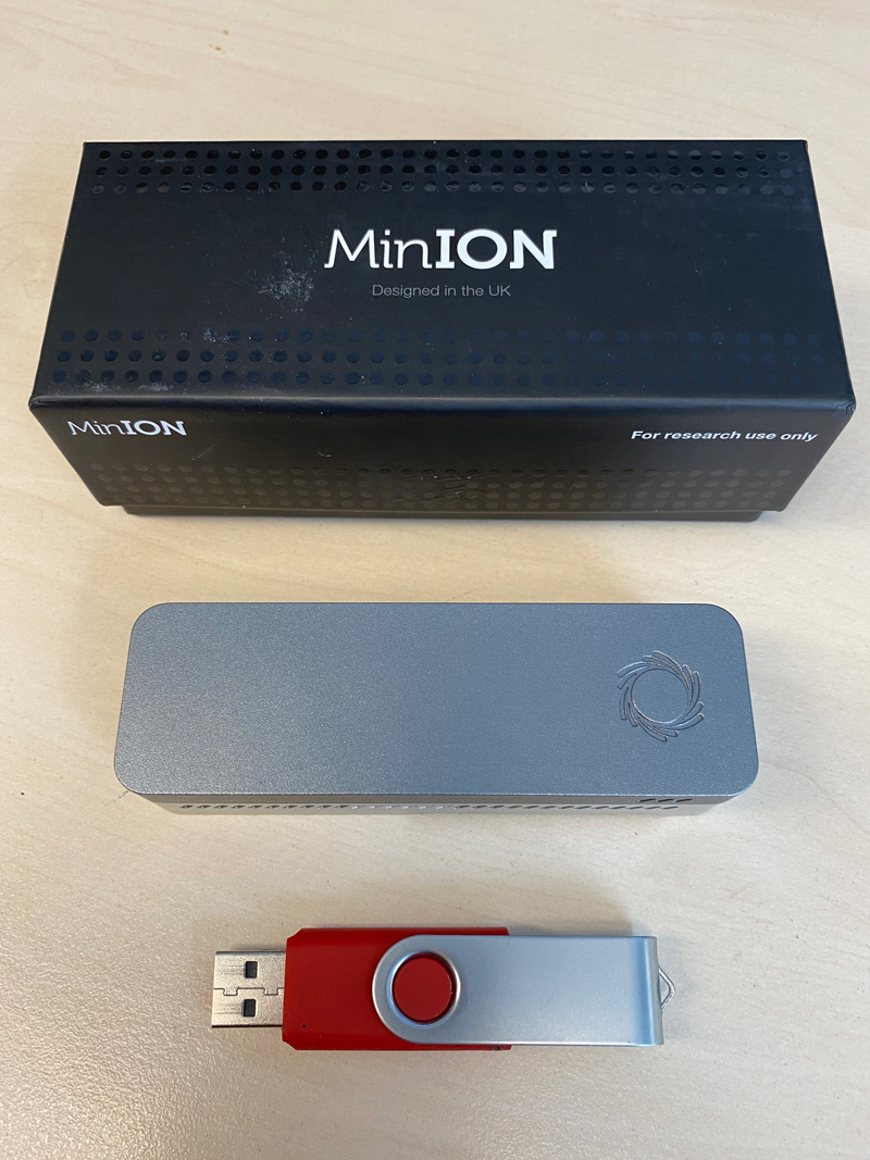 ONT MinIon sequencer